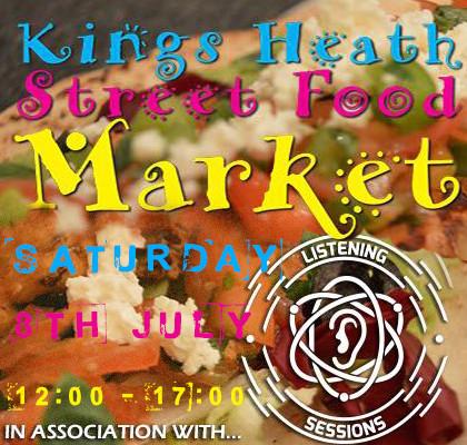 kingas heath food market