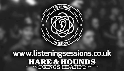 listening sessions cover photo hare and hounds